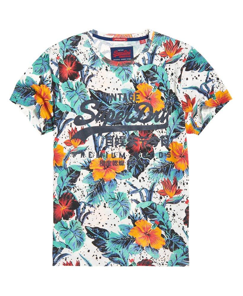 Superdry Premium Goods Hibiscus Lite T-Shirt
