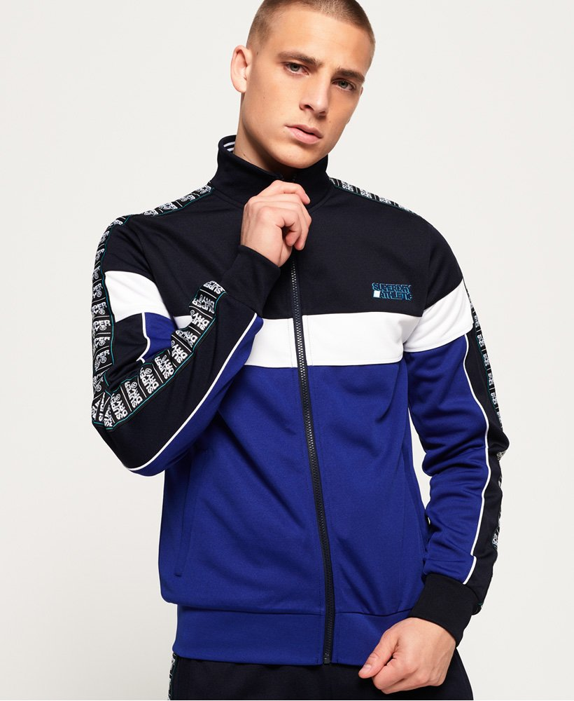Superdry SD Tricot Panelled Track Top