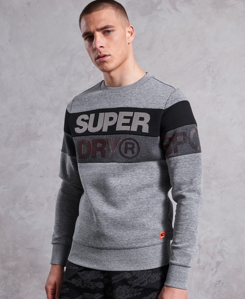 Superdry Maglione girocollo Gym Tech Cut