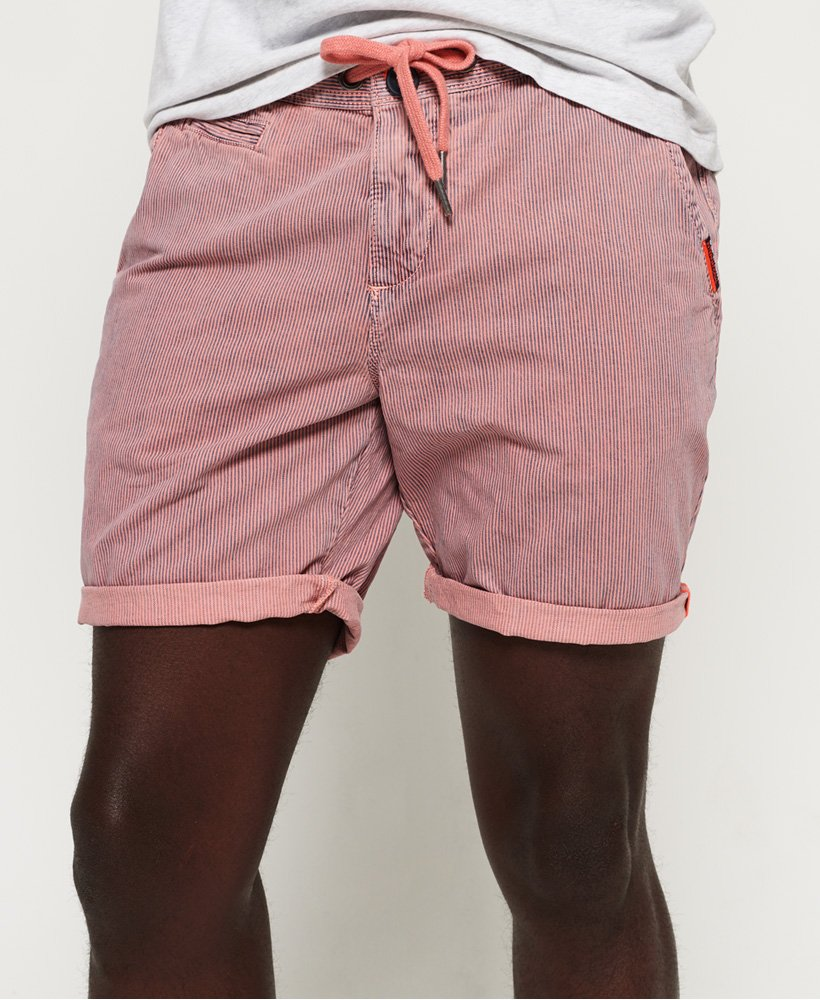 f379b3678ac1fd Mens - Sunscorched Shorts in Strawberry Stripe | Superdry