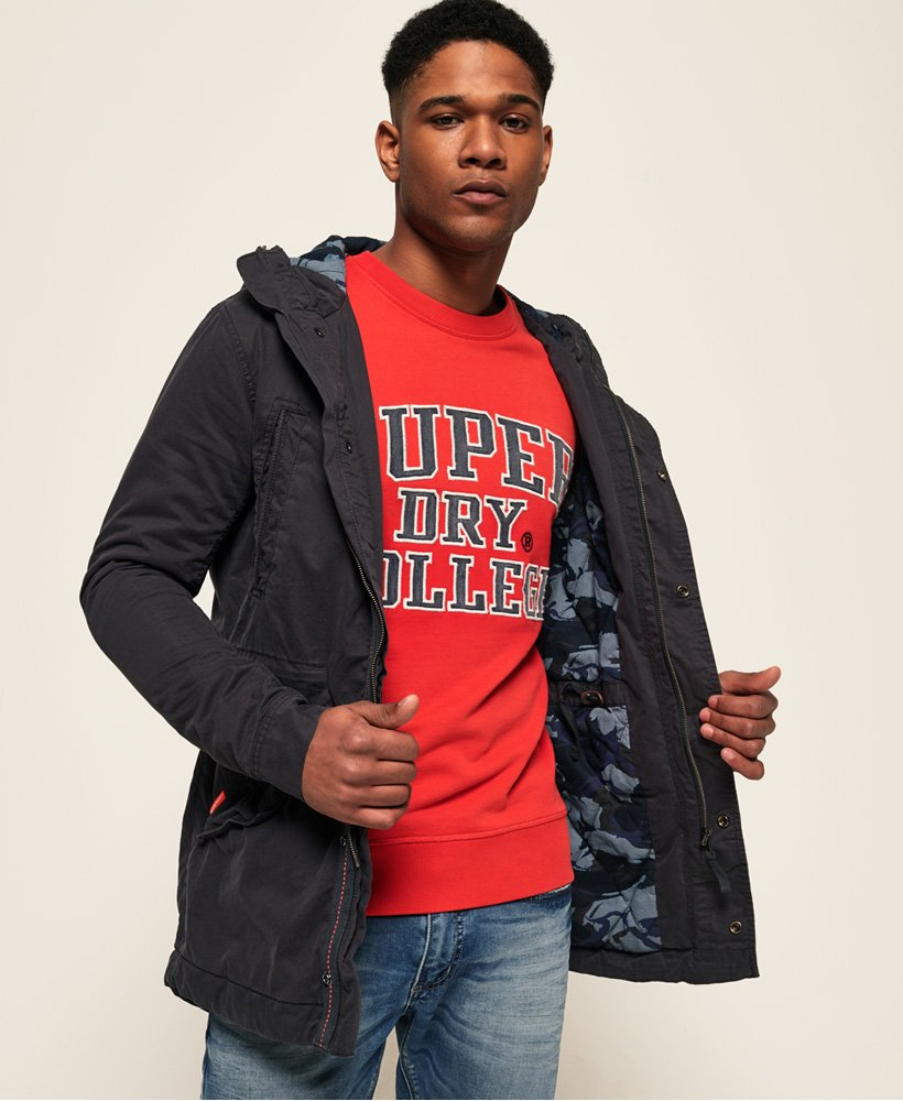 Superdry New Rookie Military parka Herrer Jakker