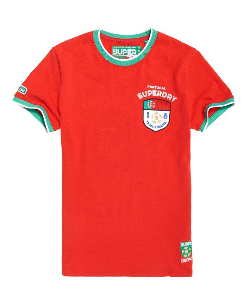 Superdry Portugal Trophy Series T-Shirt - Herren T-Shirts d8787b331c