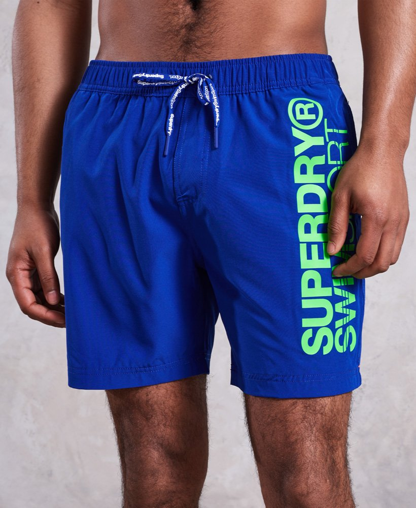 Superdry SD Sports Volley Swim Shorts thumbnail 1