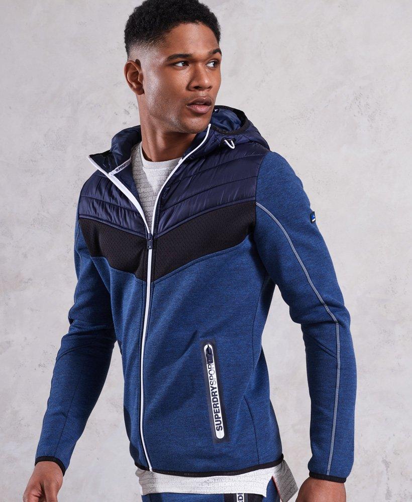 Superdry Gym Tech Chevron Hybrid jakke