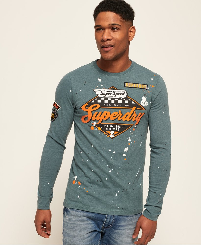Superdry Patch T skjorte Herre T skjorter