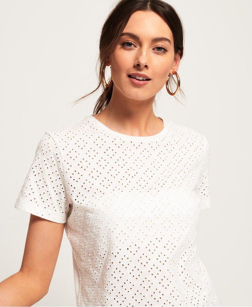 Superdry Jessie Schiffli T-Shirt