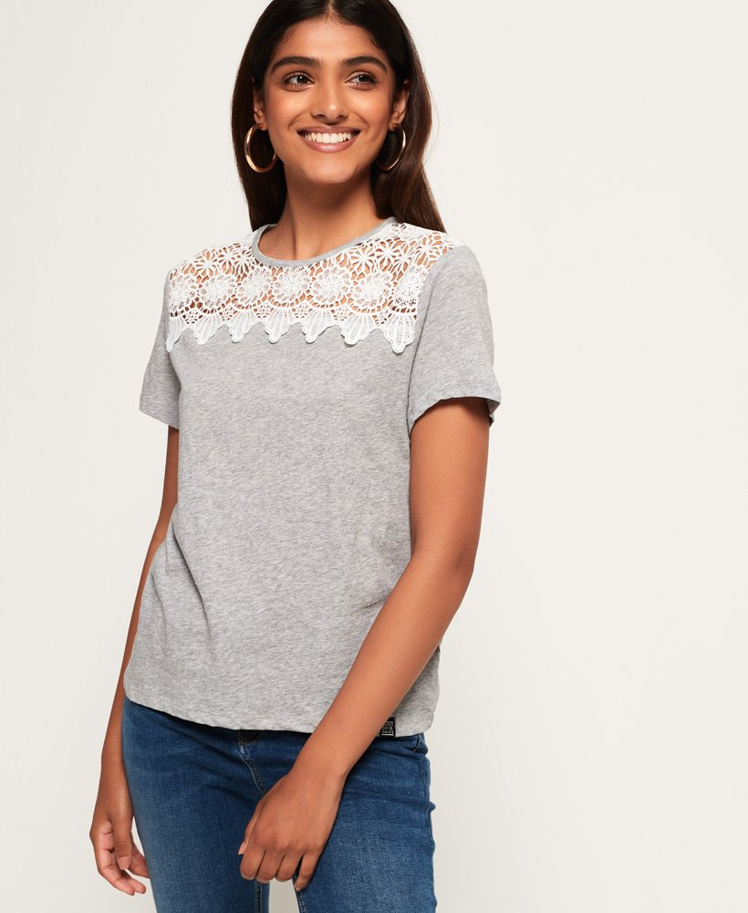 Superdry Beach Lace T-Shirt