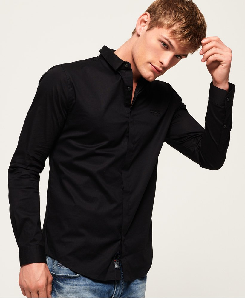 Superdry Tailored Slim Long Sleeved Shirt
