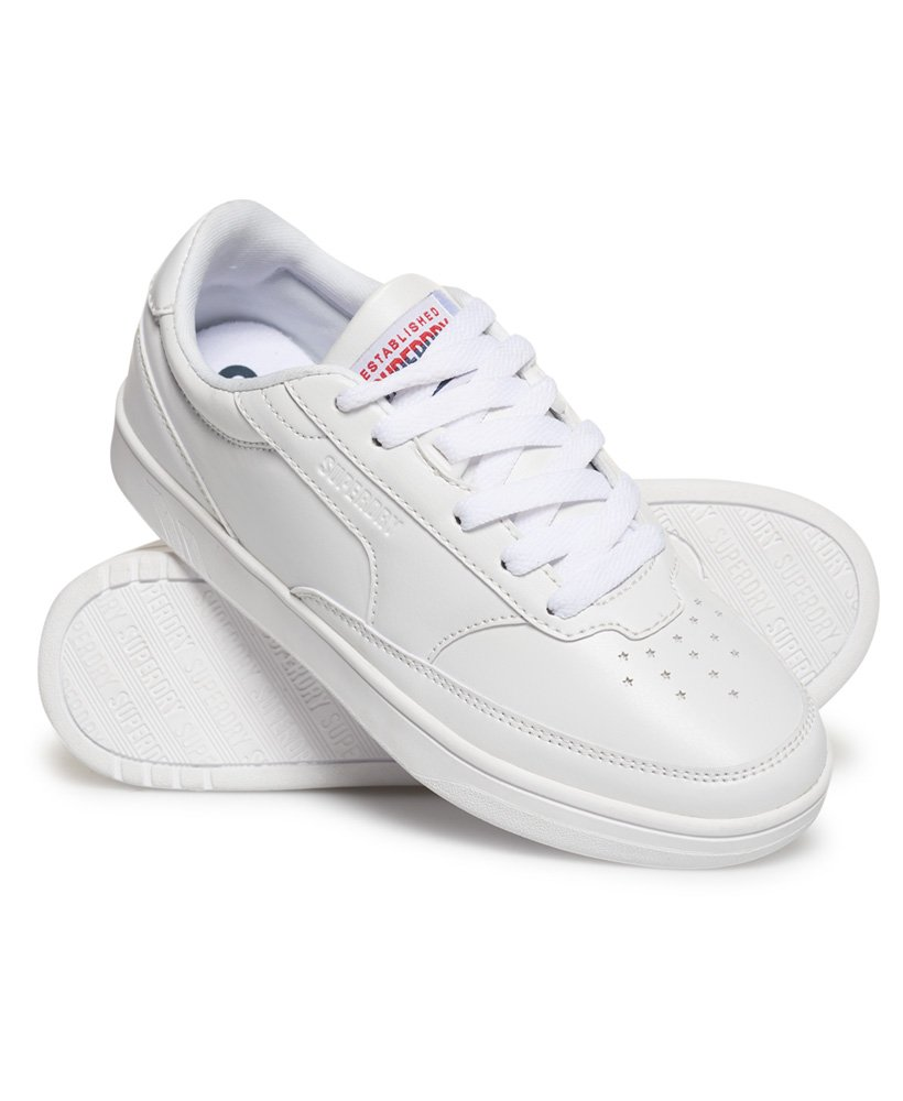 Superdry Retro Court Trainers thumbnail 1