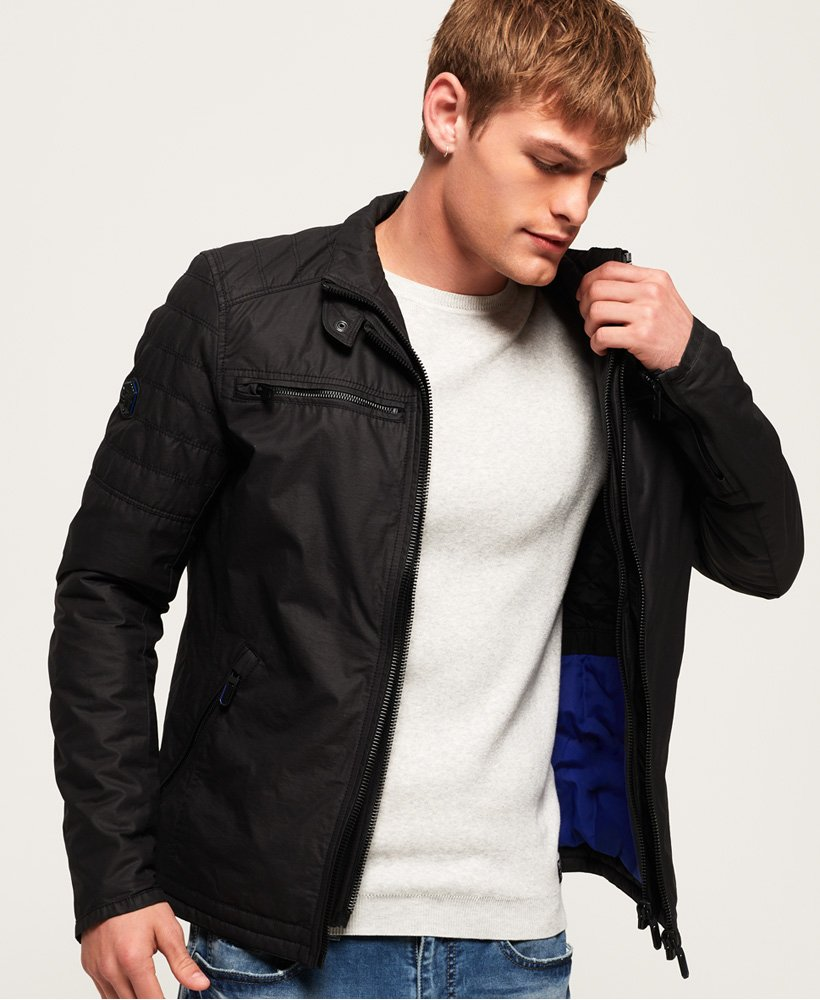 Superdry Bailey Biker Jacket thumbnail 1