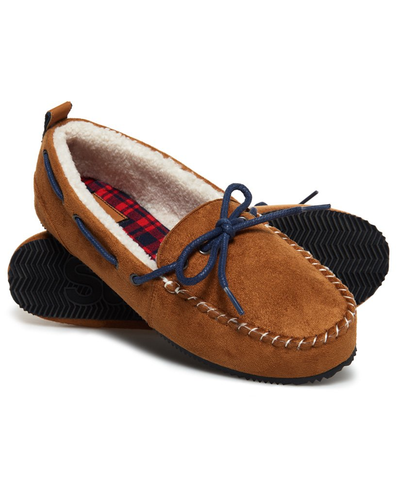 Superdry Clinton Moccasin Slippers