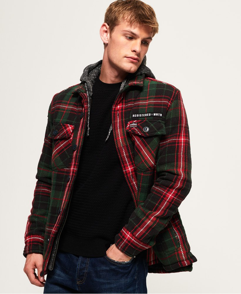 Superdry Everest Storm Hooded Jacket thumbnail 1