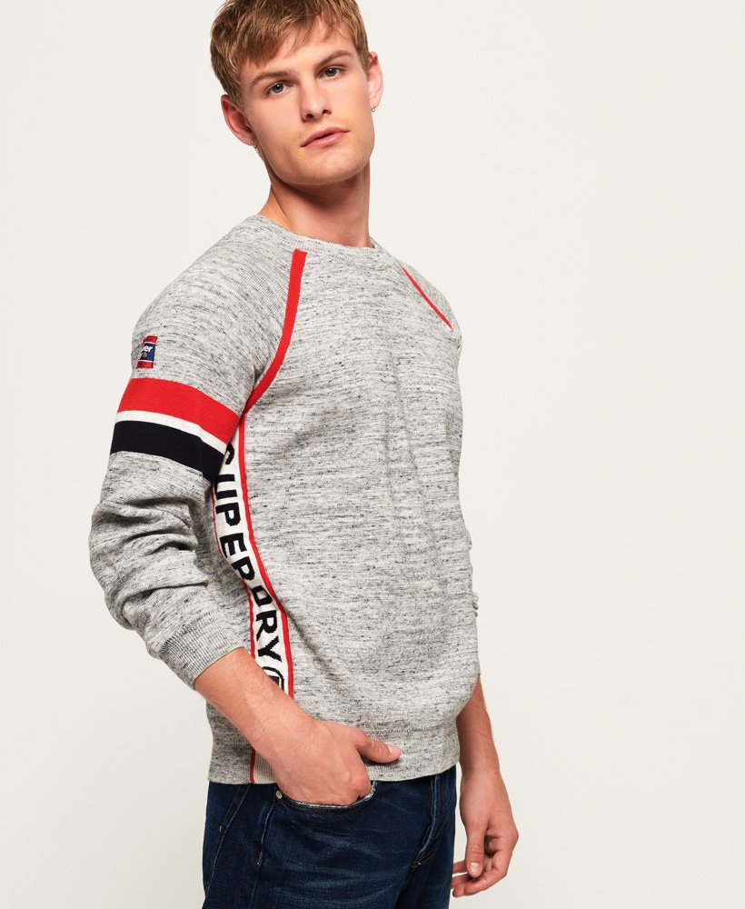 Superdry Jersey de cuello redondo SD Gym thumbnail 1