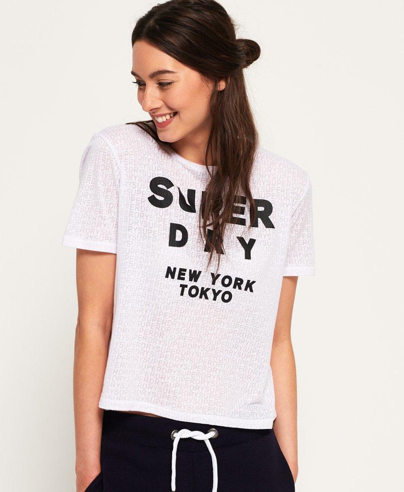 Superdry T-shirt effet dévoré Houston thumbnail 1
