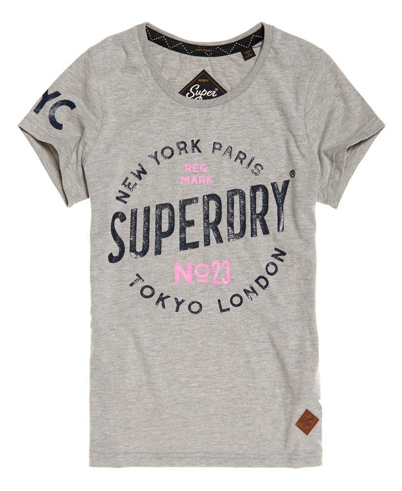 Haut Femme Superdry City of Dreams T-Shirt