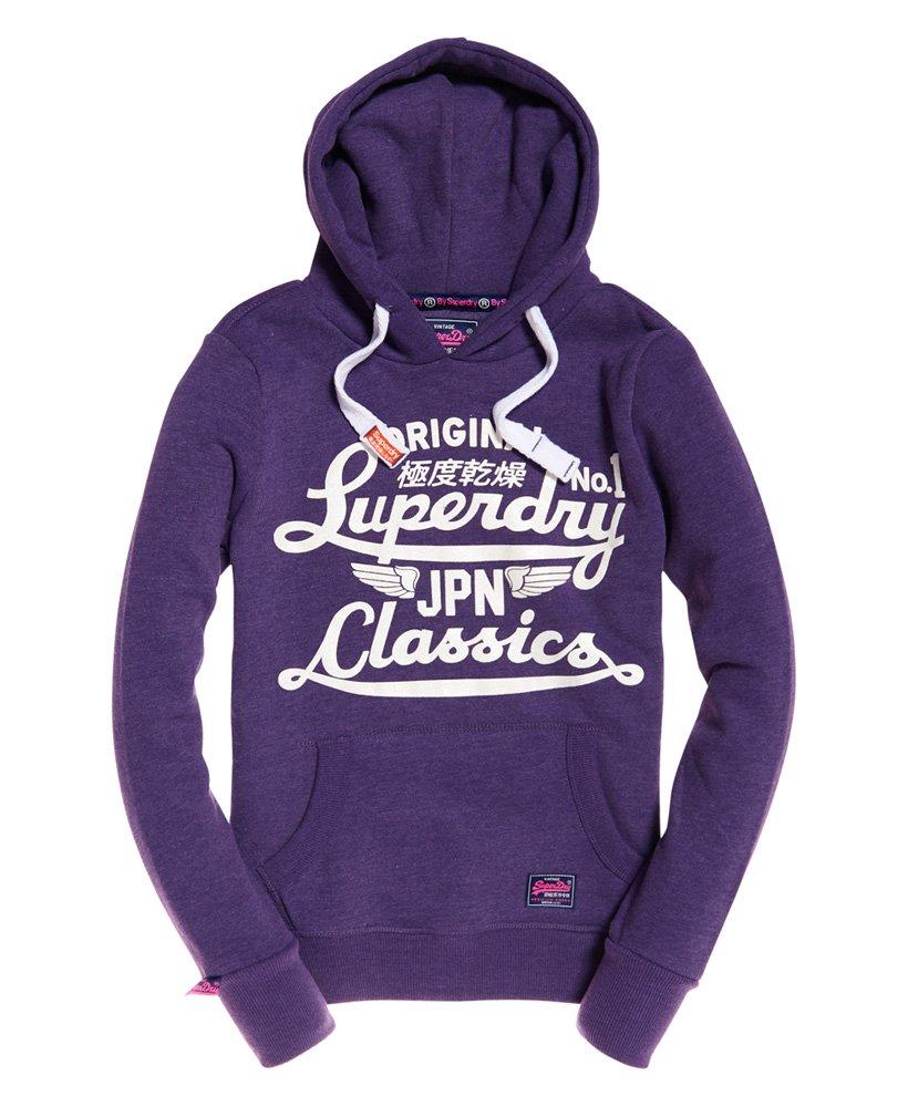 sweat superdry homme violet