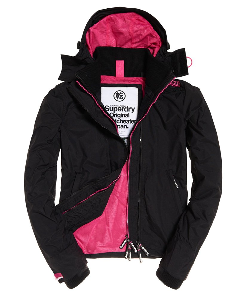 superdry jacke windcheater damen pink