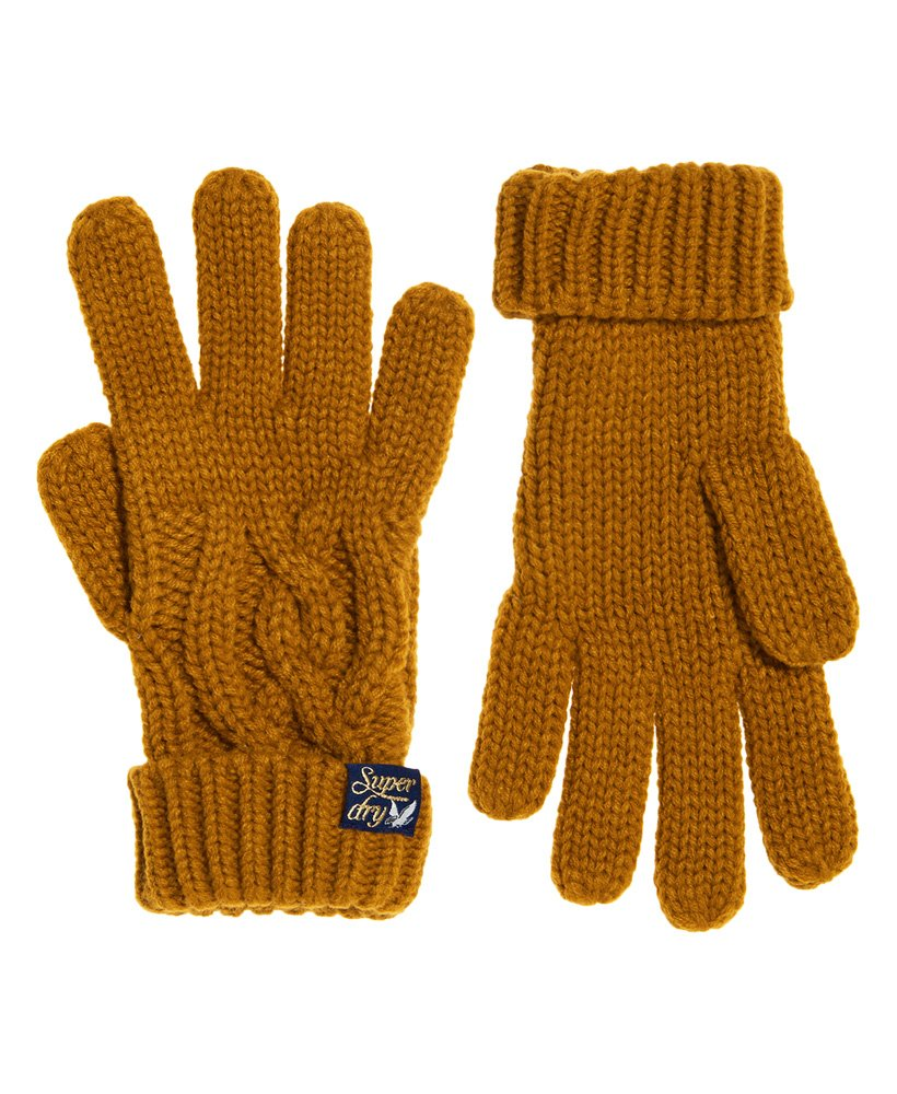 Superdry Arizona Cable Gloves thumbnail 1