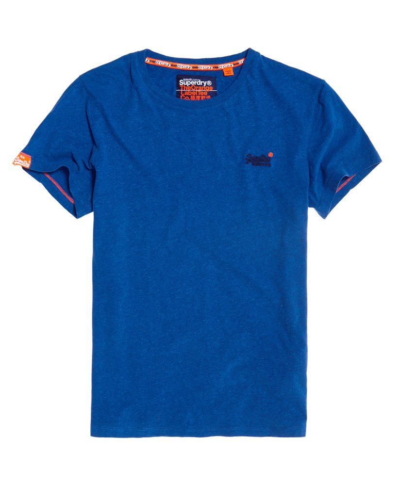 Superdry Orange Label Vintage T-Shirt mit Stickerei