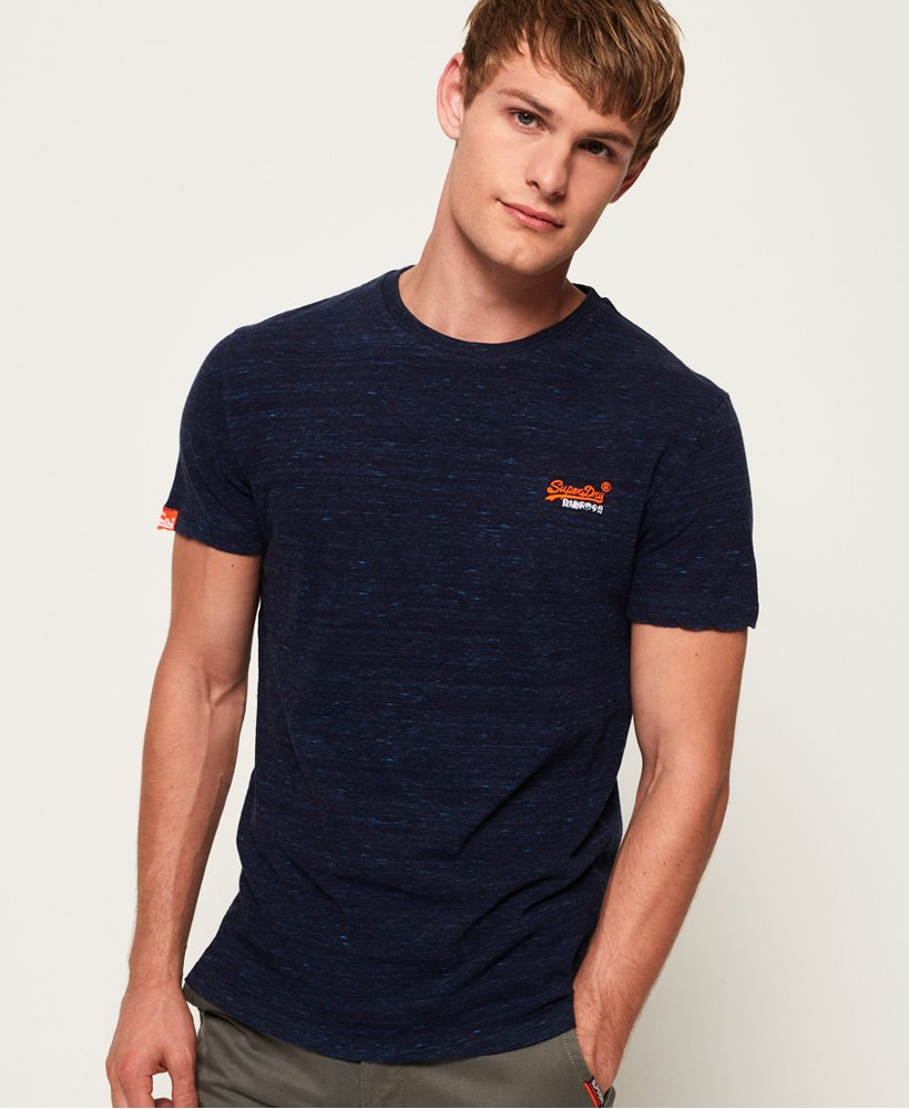 Superdry Vintage T-Shirt mit Stickerei aus der Orange Label Kollektion thumbnail 1