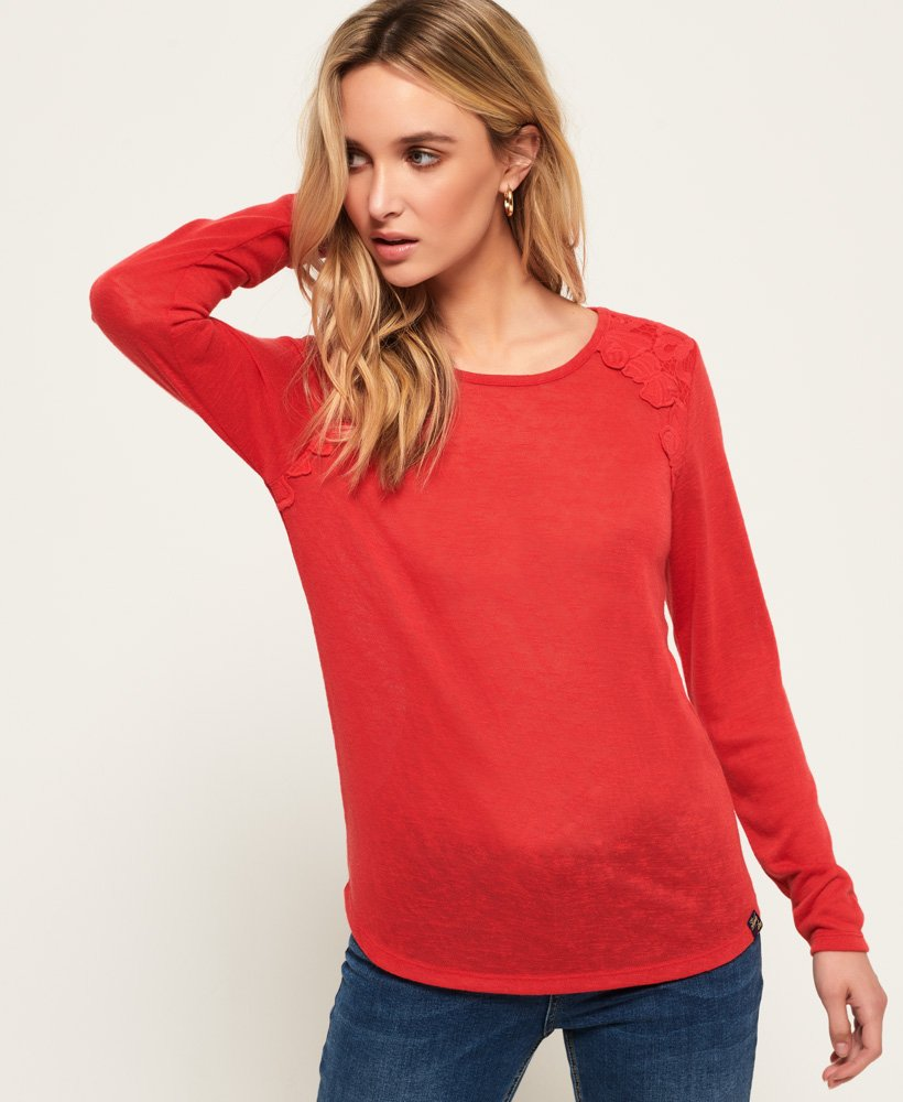 Superdry Seanna Lace Top thumbnail 1