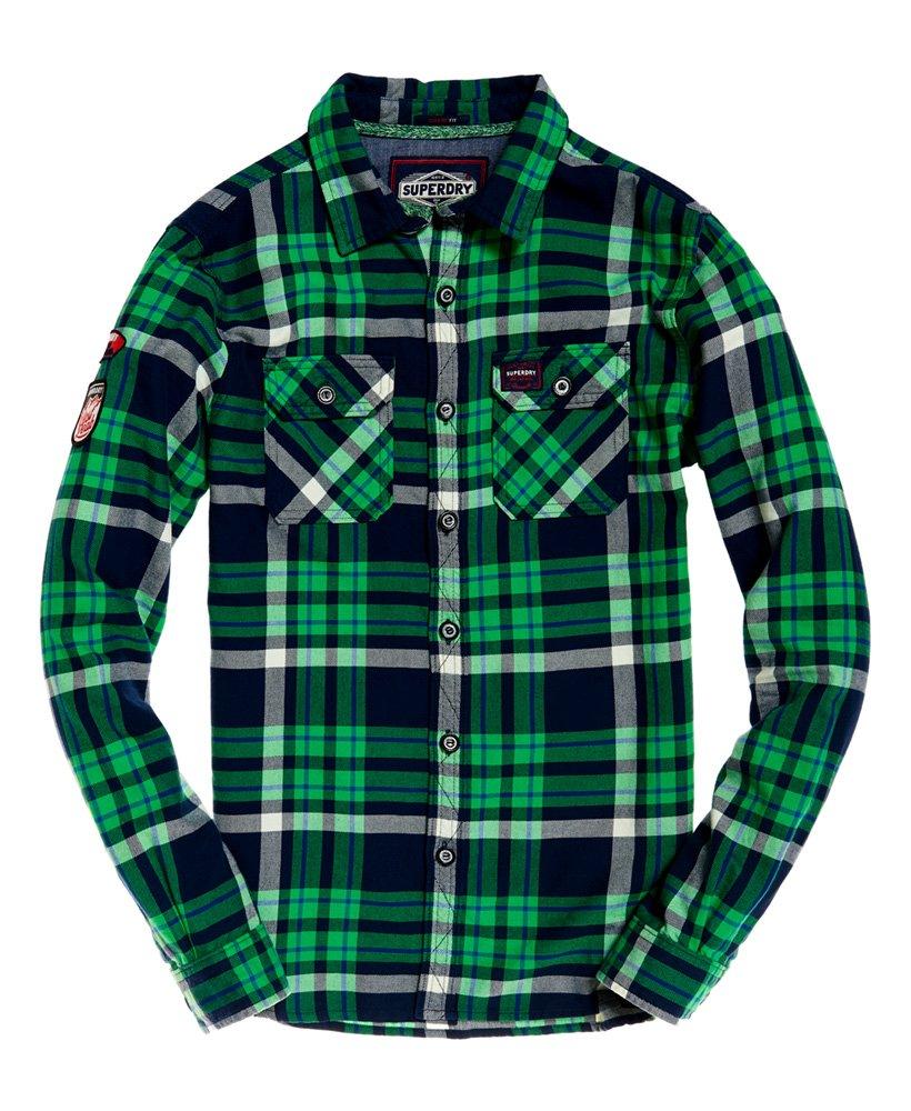 Superdry Camisa ligera Lumberjack   Camisas, Hombres