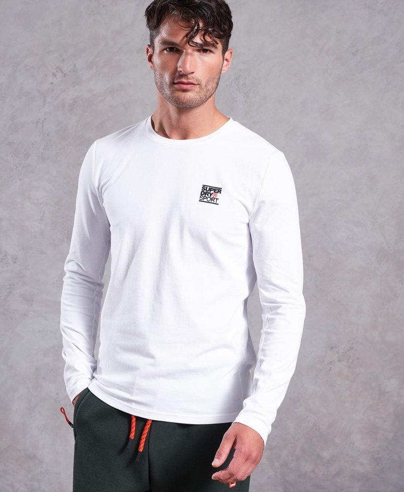 Superdry Core Long Sleeve Sign Off T-Shirt