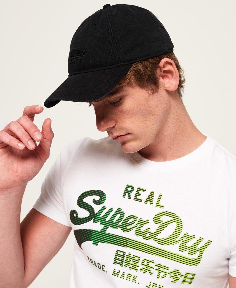 Superdry Label Twill Cap Casquette de Baseball Homme