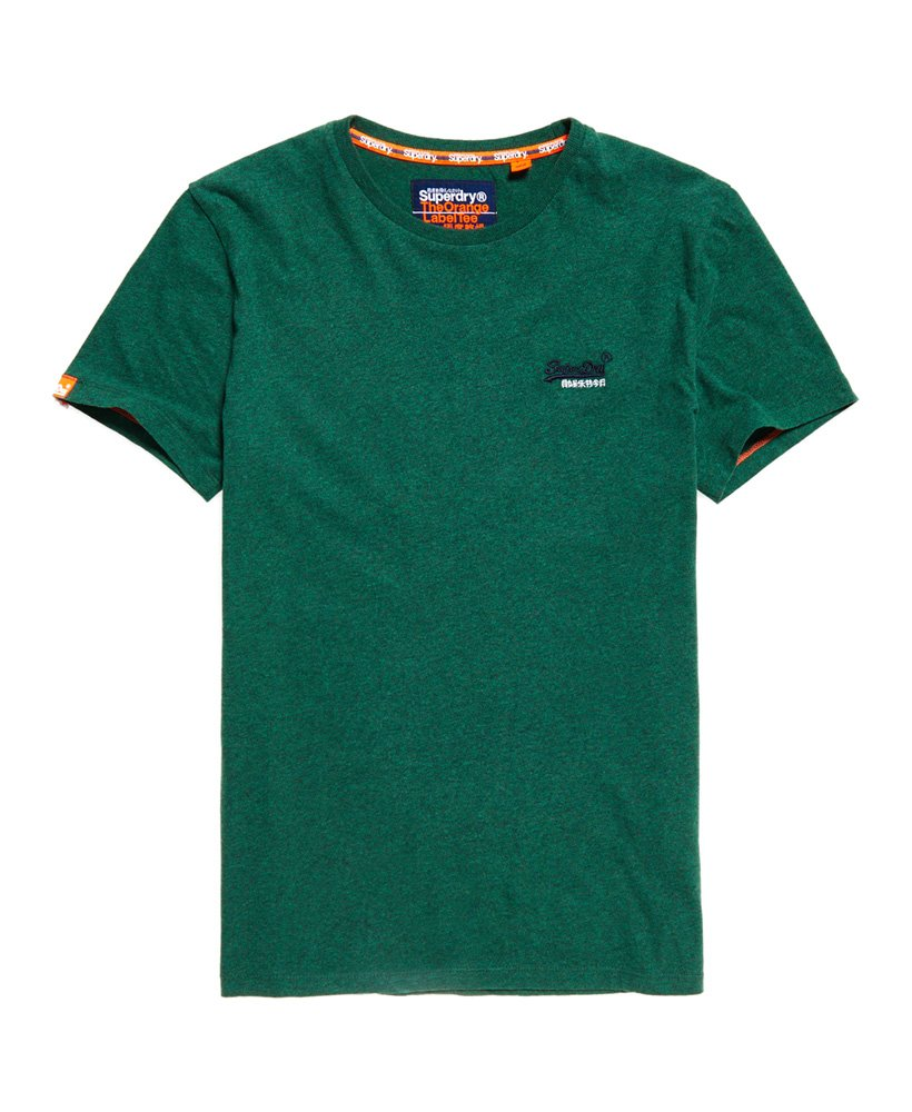 Superdry T-shirt brodé Vintage Orange Label