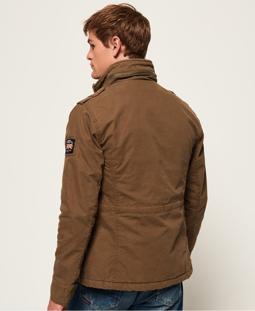 Superdry Herren Classic Rookie Military Jacket Mantel