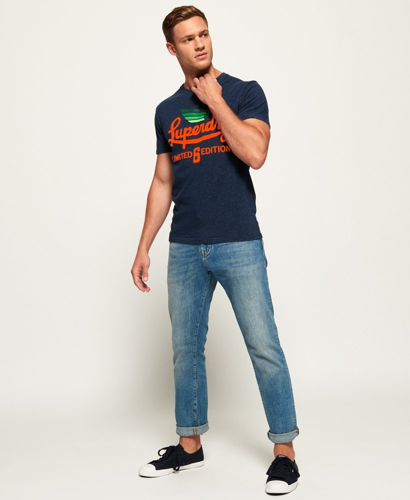 T Shirt Superdry Limited Icarus Tee Navy Birdseye