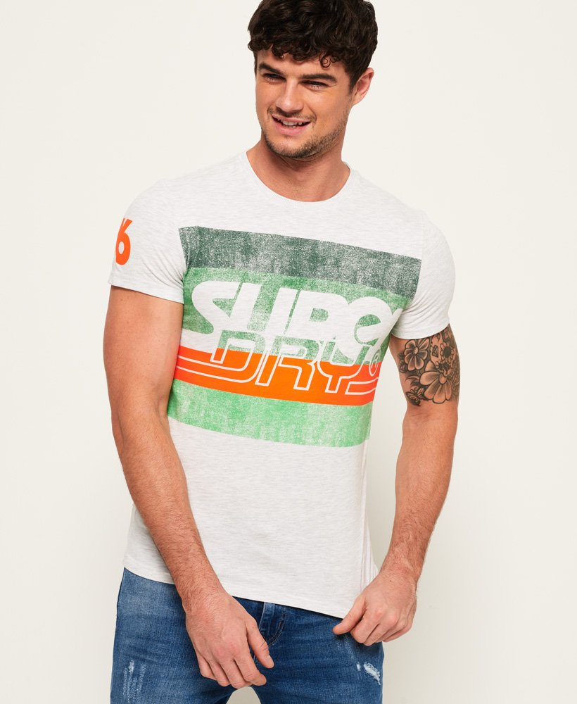 Superdry Rivine Stripe T-Shirt thumbnail 1