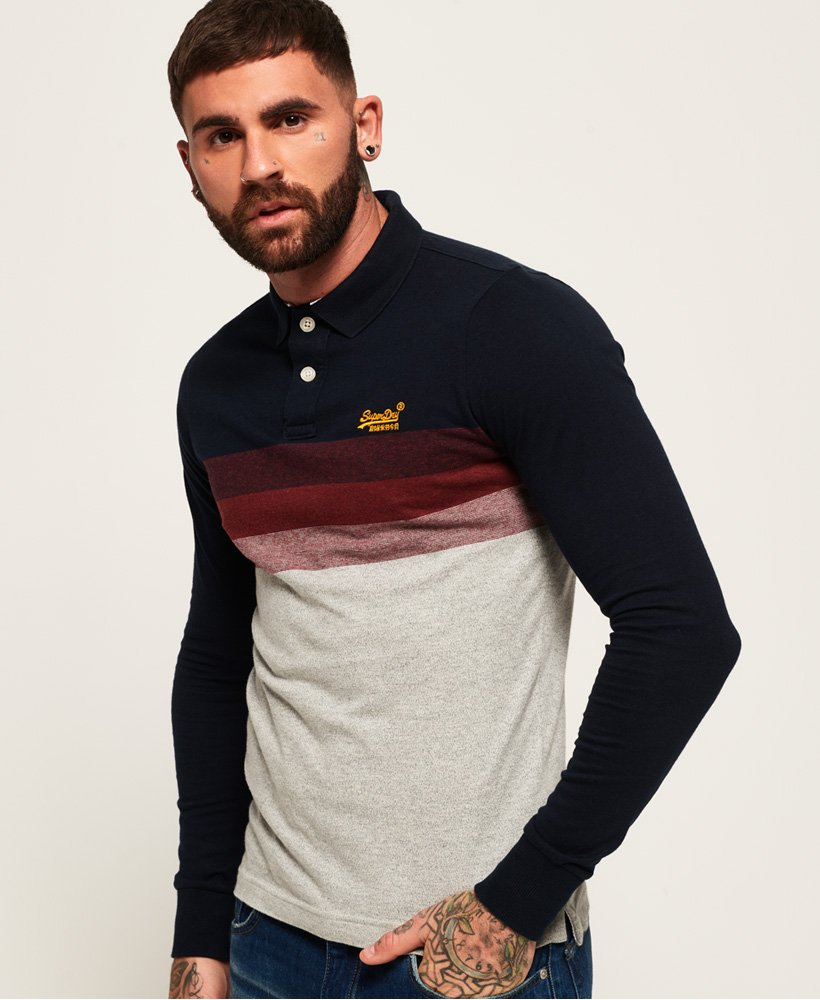 Superdry Classic Long Beach Polo Shirt thumbnail 1