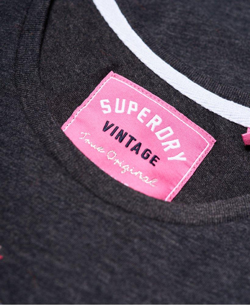 Haut Femme Superdry Arizona Puff broderie T-Shirt