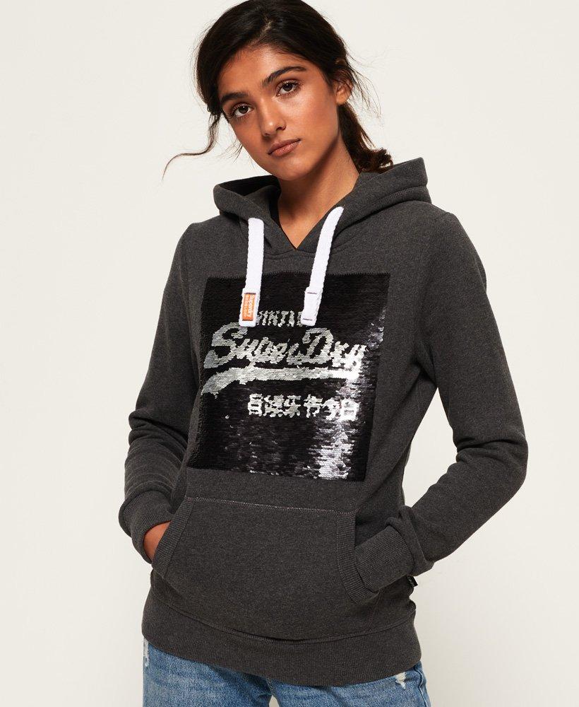 Superdry Premium Sequin Hoodie thumbnail 1