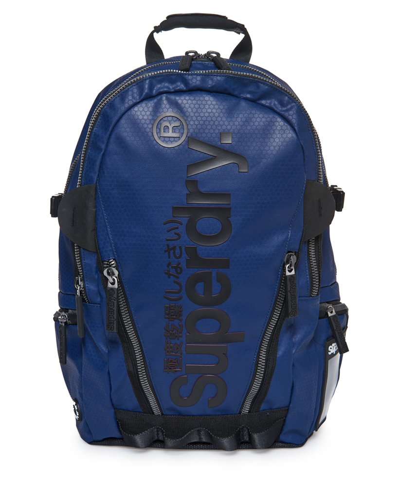 Superdry Silver Tarp Backpack