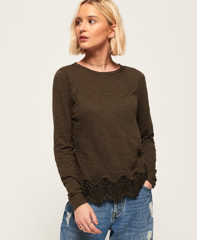Superdry Alma Lace Top thumbnail 1