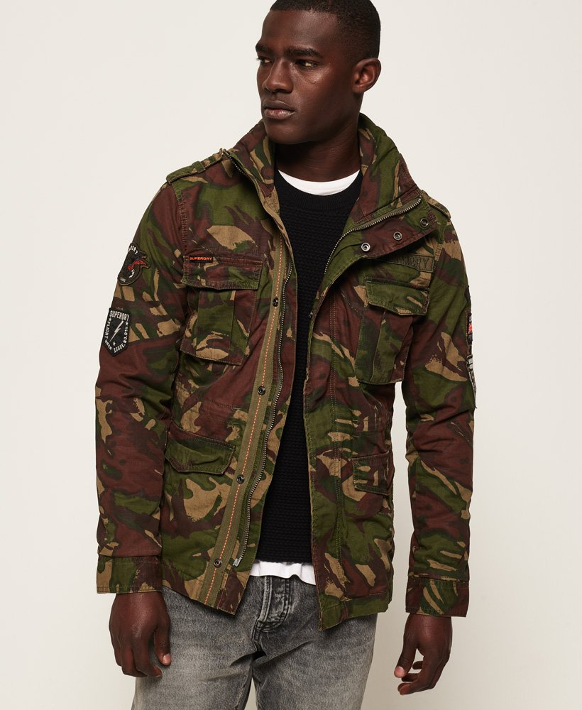 Superdry Hero Rookie Military Jacket thumbnail 1