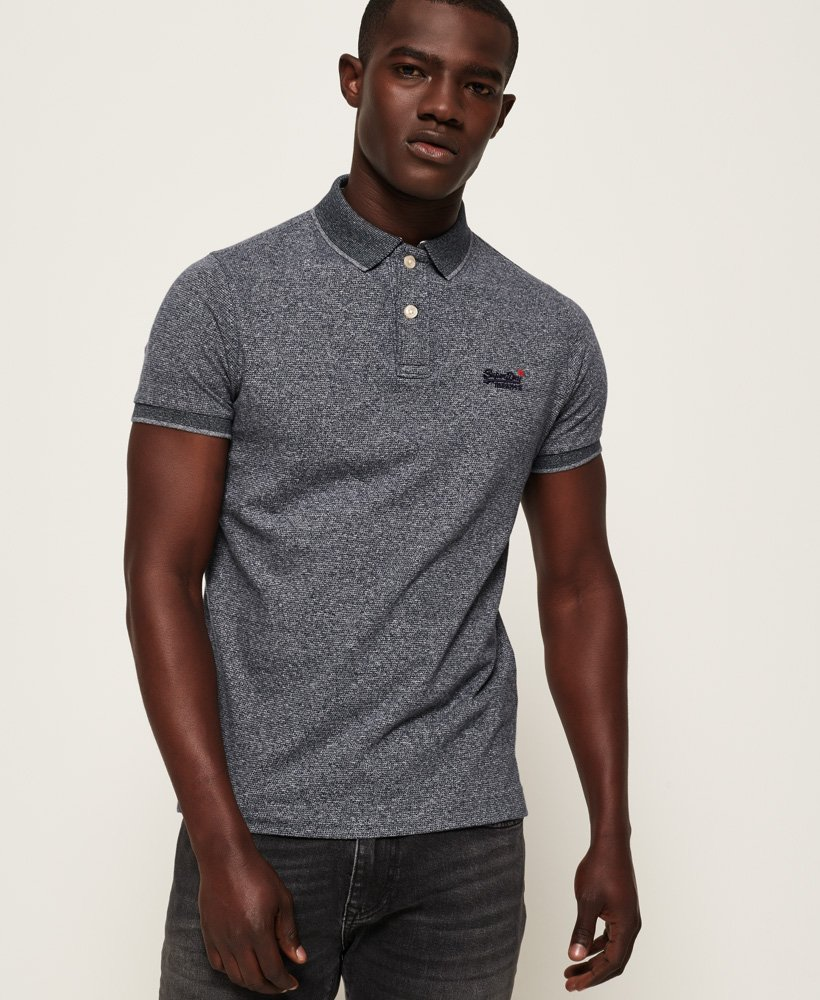 Superdry Classic Jaquard Jersey Polo thumbnail 1