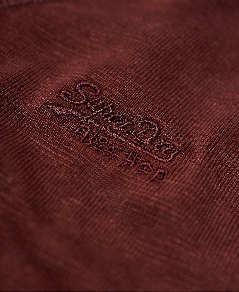Superdry Garment Dye L.A. genser med rund hals Herre Gensere