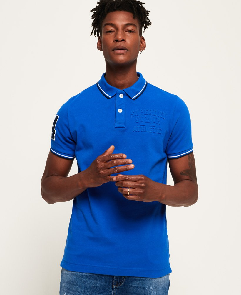 Superdry Classic Super Tri Polo Shirt thumbnail 1