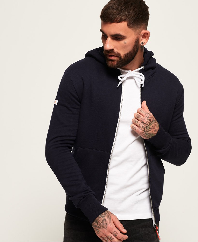 Superdry Sweat à capuche zippé LA