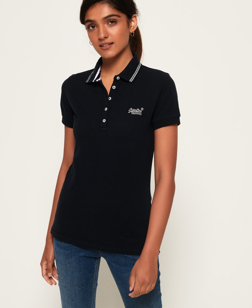 exquisite style great quality unique design Superdry Classic Polo Top for Womens