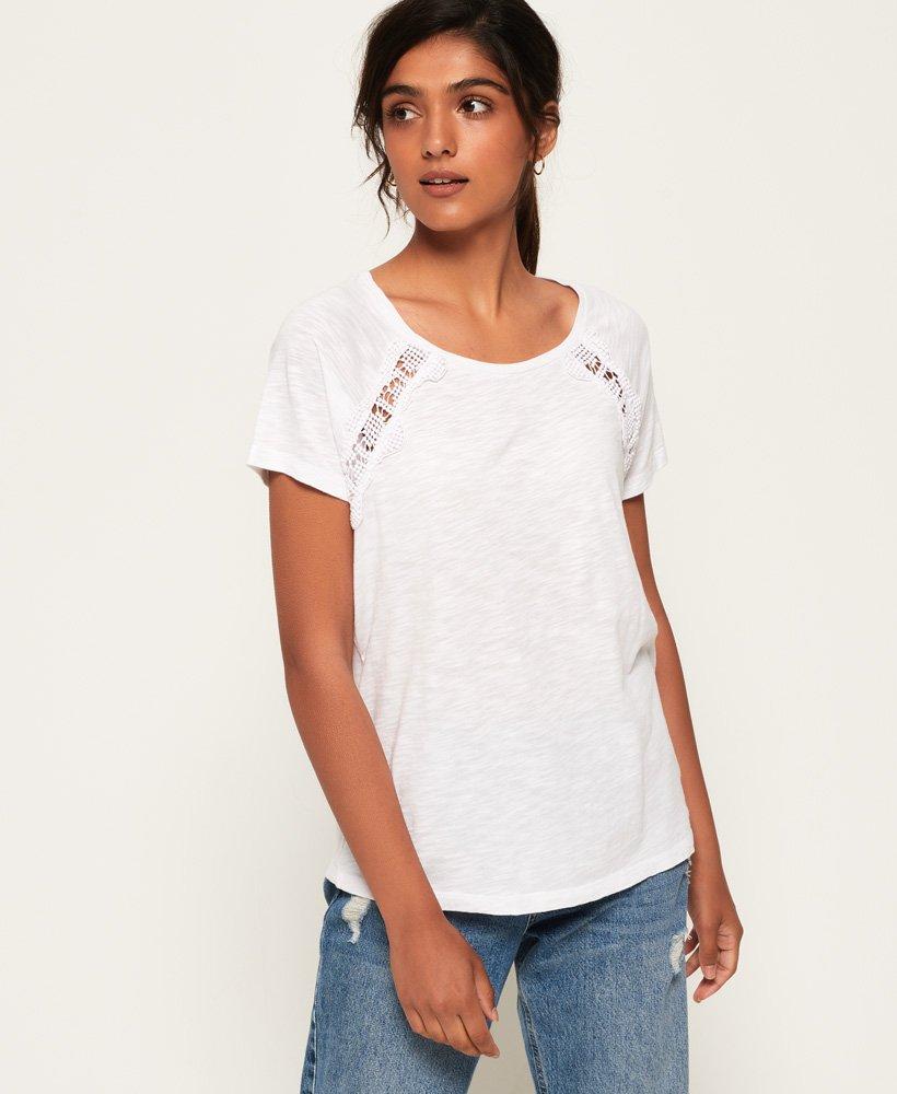 Superdry Elizabeth Lace T-Shirt thumbnail 1