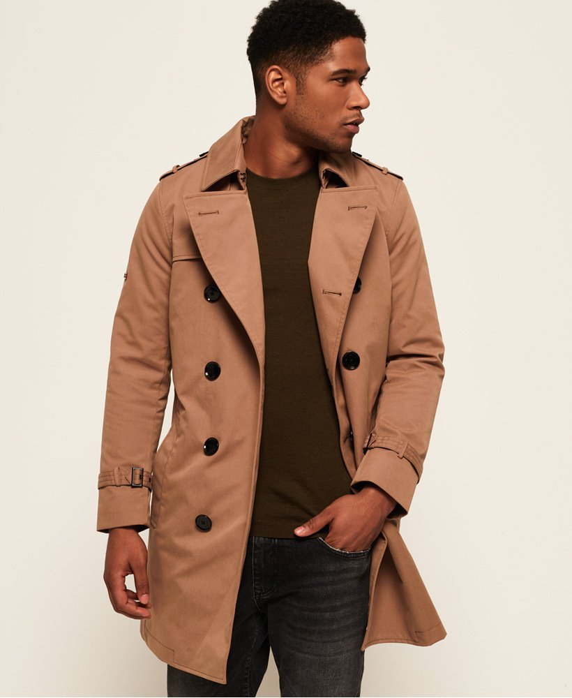 Superdry Premium Director Trench Coat thumbnail 1