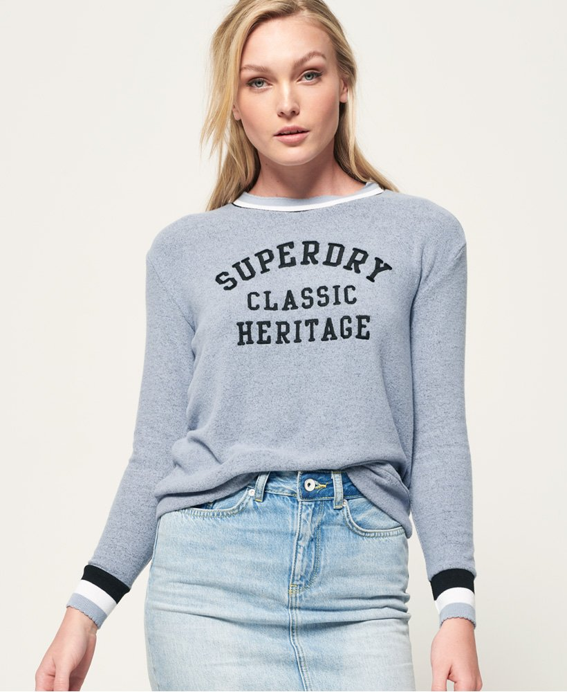 Superdry American Girl Applique Top