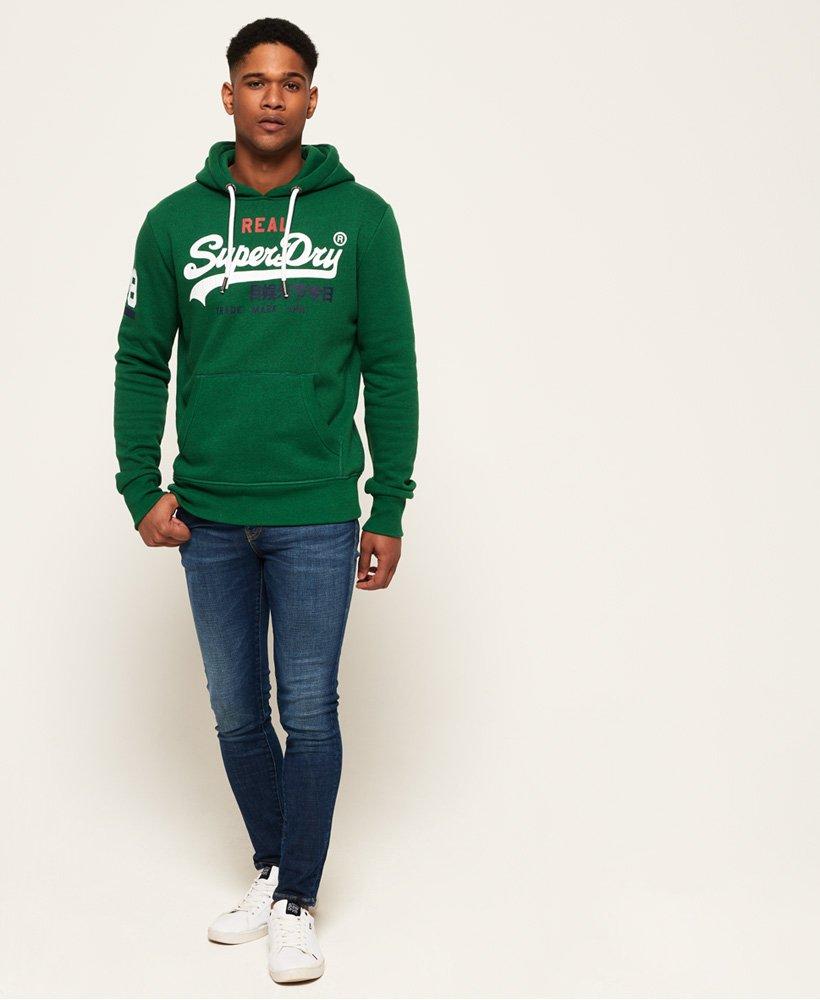Superdry Sweat à capuche Vintage Logo tricolore pour Homme