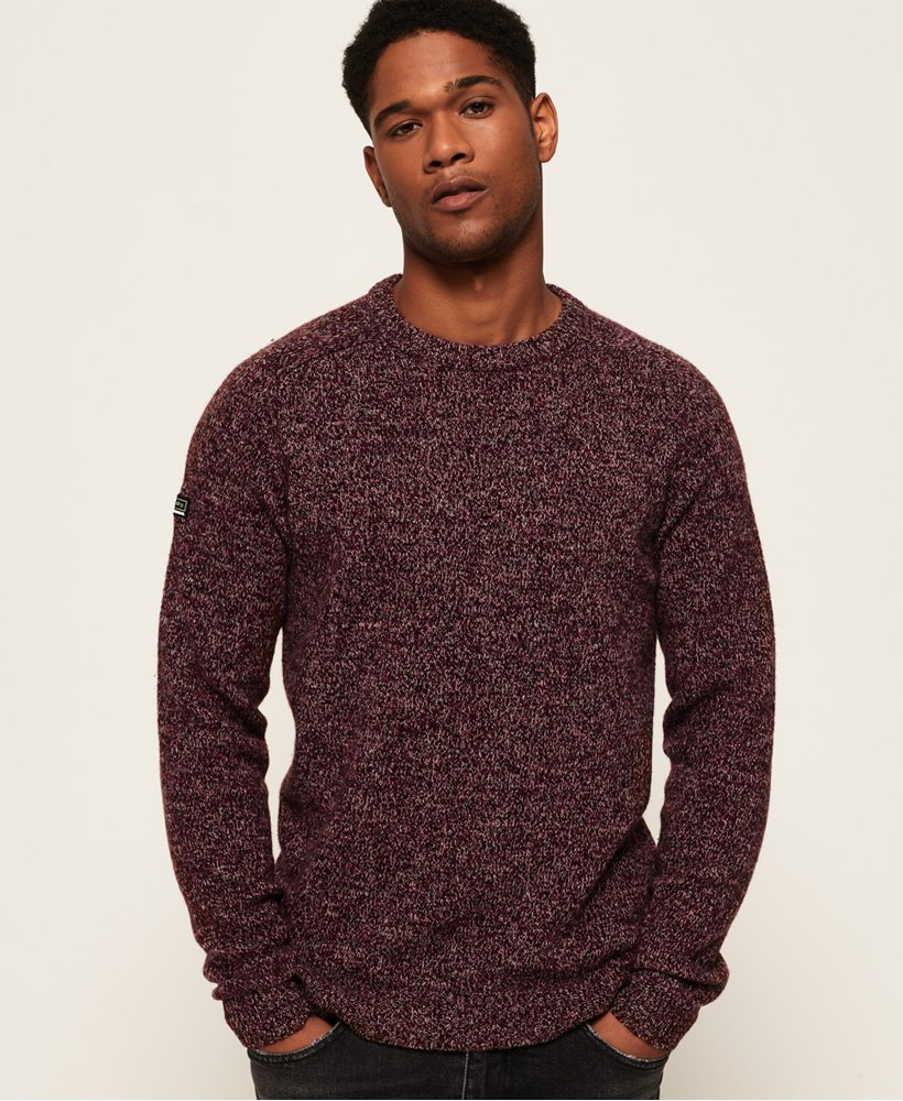 Superdry Harlo Twist Crew Neck Jumper thumbnail 1