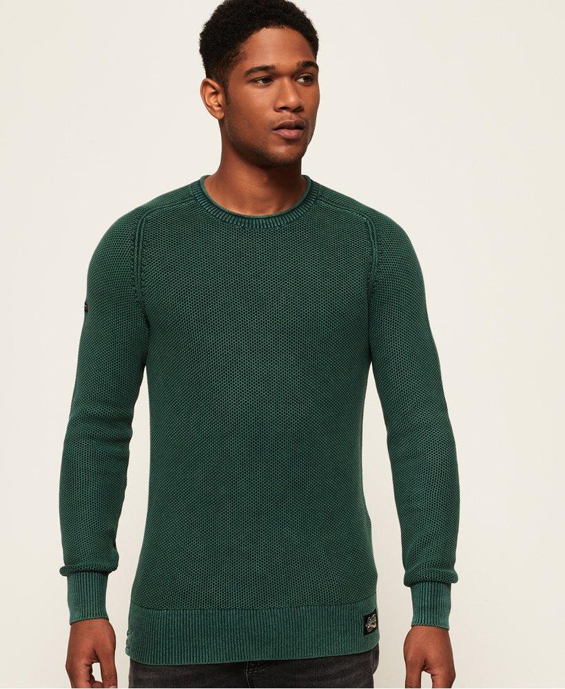 Superdry Maglione girocollo Garment Dye L.A Textured