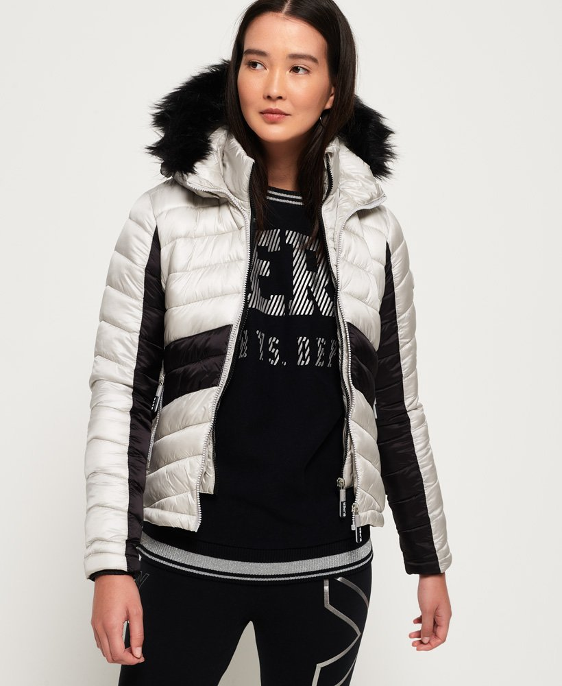Superdry Offshore Luxe Chevron Fuji Jacket thumbnail 1